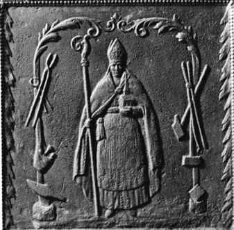 Gussplatte des St. Ingberter Eisenwerks