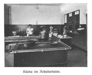 Küche im Arbeiterheim